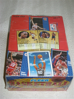 91/92 Fleer BSK S1 Box