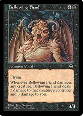MTG BELLOWING FIEND