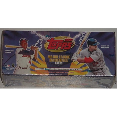 00 Topps Baseball Set Factory