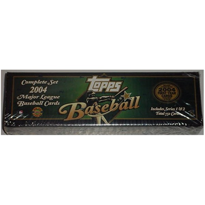 04 Topps BB Set Factory Green