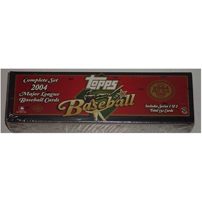 04 Topps BB Set Factory Red