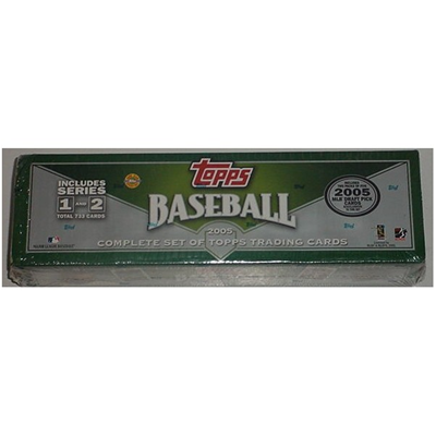 05 Topps BB Factory Set Green