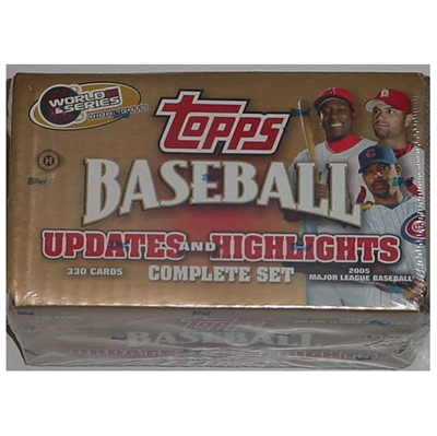 05 Topps BB Up/Highlight Set