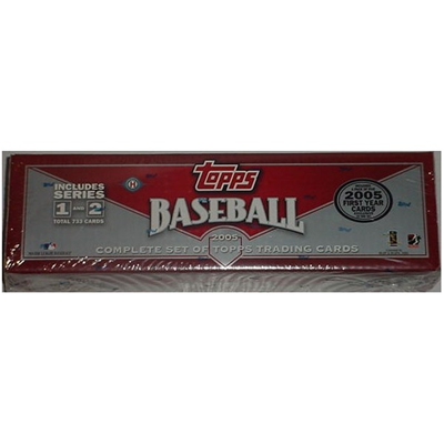 05 Topps BB Factory Set Brown