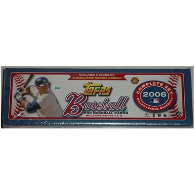 06 Topps Baseball Set Factory