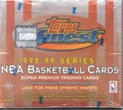 1998/99 Finest BSK Ser 1 Box