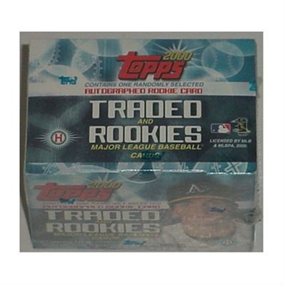 00 Topps Traded Factory Set