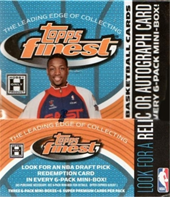 05/6 Topps Finest Bsk Full Box