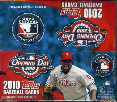10 Topps Opening Day BB Box