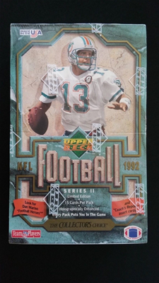 92 Upper Deck FB Series 2 Box