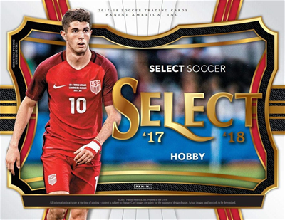 17/18 PANINI SELECT SOCCER BOX