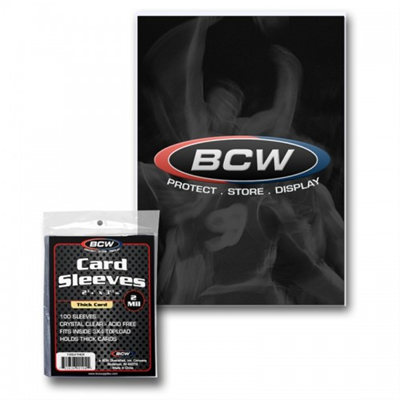 Card Sleeves Thick 100ct BCW