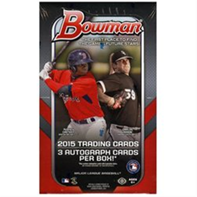 15 BOWMAN BASEBALL JUMBO BOX
