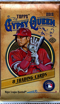 19 TOPPS GYPSY QUEEN BB PACK