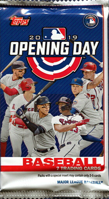 19 TOPPS OPENING DAY BB PACK