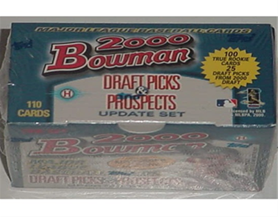 00 Bowman Draft Picks BB Set