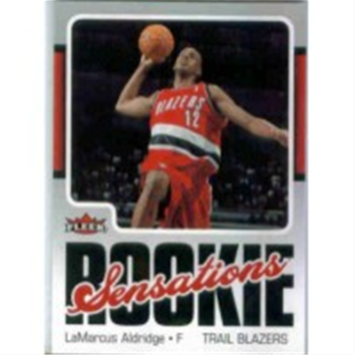2006/7 Fleer LeMarcus Aldridge