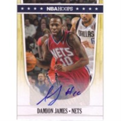 2011/2 Hoops Damion James AU