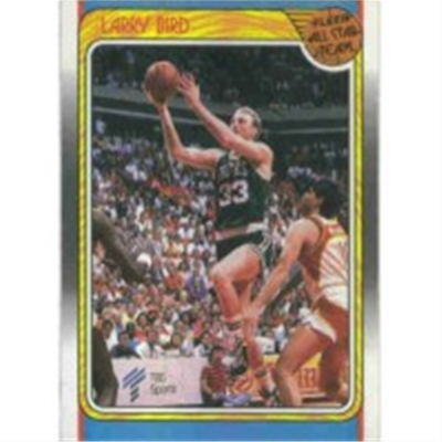 1988/9 Fleer Larry Bird AS