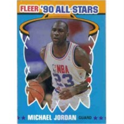1990/1 Fleer Michael Jordan AS