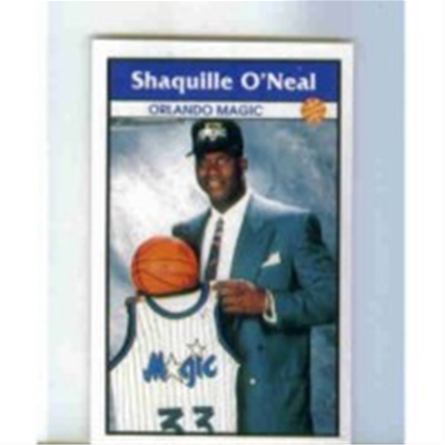 1992/3 Panini Shaquille ONeal