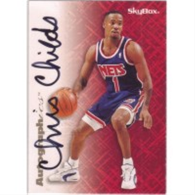1996/7 Skybox Chris Childs AU