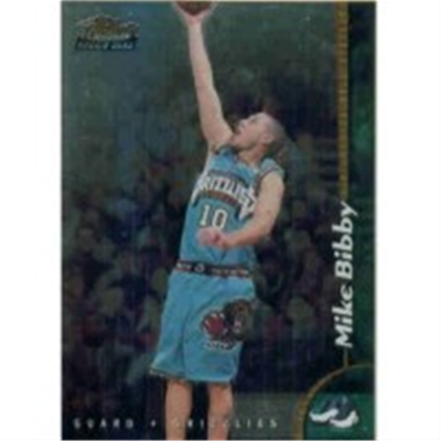 1998/9 Finest Mike Bibby RC