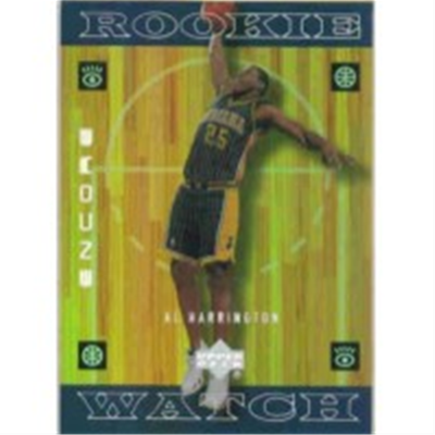1998/9 Encore Al Harrington RC
