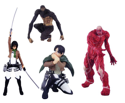 Attack On Titan Capsule Toys 3