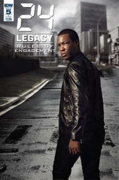 24 Legacy Rules Of Engage #5 V