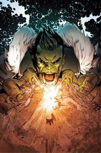 Incredible Hulk By Land Poster