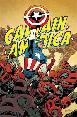 Captain America #695 By Samnee