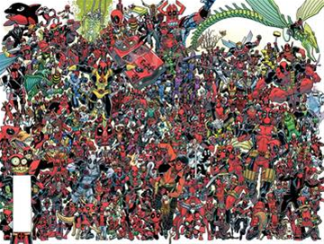 Deadpool #300 By Koblish Poste