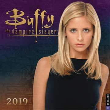 Btvs Buffy 2019 Wall Calendar
