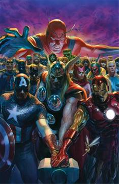 Avengers #700 By Alex Ross Pos