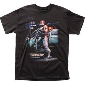 Robocop Part Man All Cop T/S X