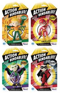 Action Bendables JLA - AQUAMAN