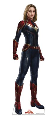 Captain Marvel Life-Size Stand