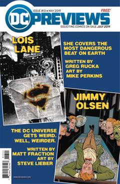 Dc Previews #15 July 2019 Extr