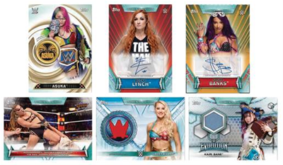 Topps 2019 Wwe Womens Division