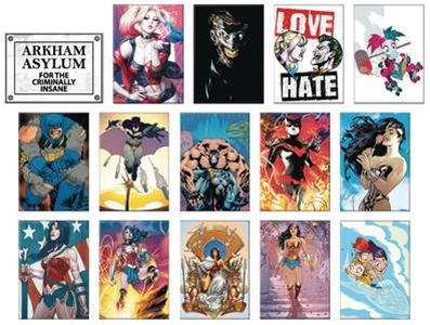 Dc Heroes Comic 48pc Magnet As