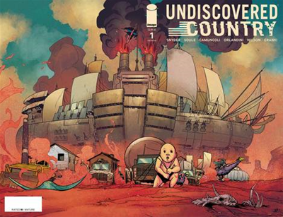 Undiscovered Country #1 3rd Pt