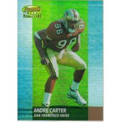 2001 B Best Andre Carter RC