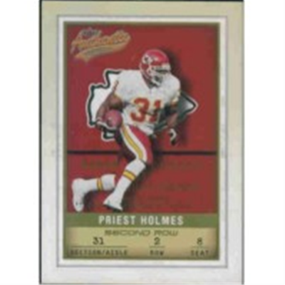 2002 Authentix Priest Holmes