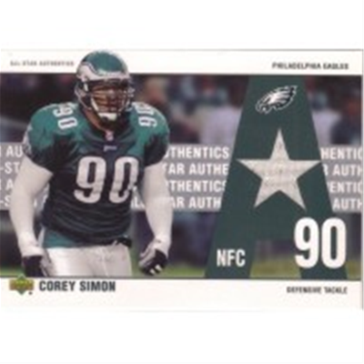 2002 Authentics Corey Simon GU