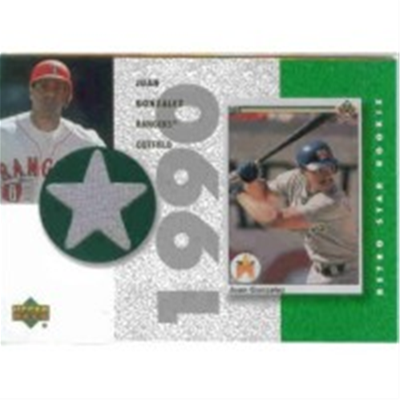 2002 Authentics Juan Gonzalez