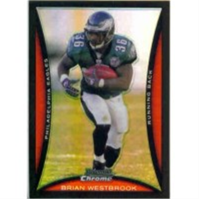 2008 B Chrome Brian Westbrook
