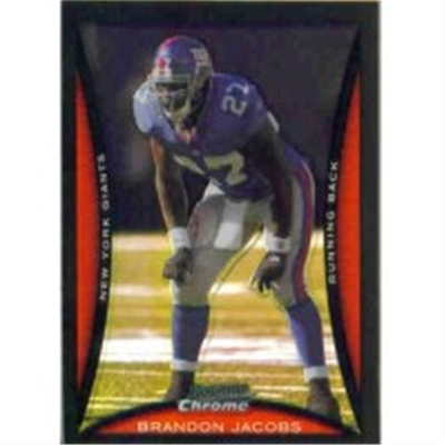 2008 B Chrome Brandon Jacobs