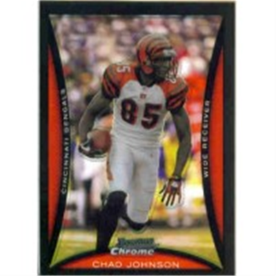 2008 B Chrome Chad Johnson RP