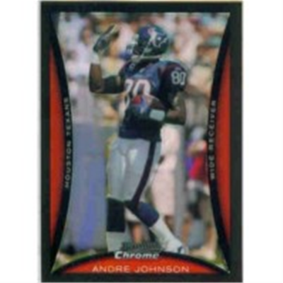 2008 B Chrome Andre Johnson RP